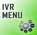 IVR menu s hostingom
